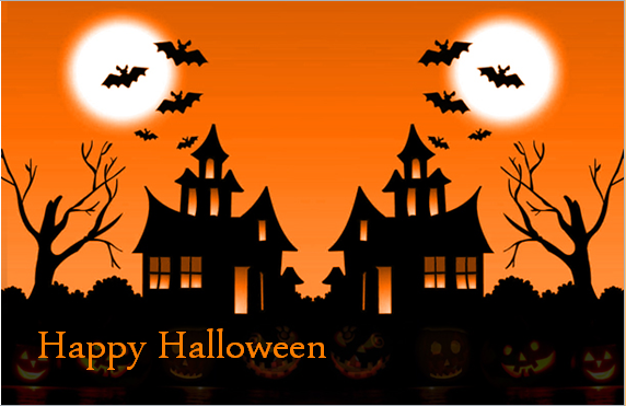 Easy Free Halloween Day Greeting Cards   Creepy Ecards Of Halloween Day 2016