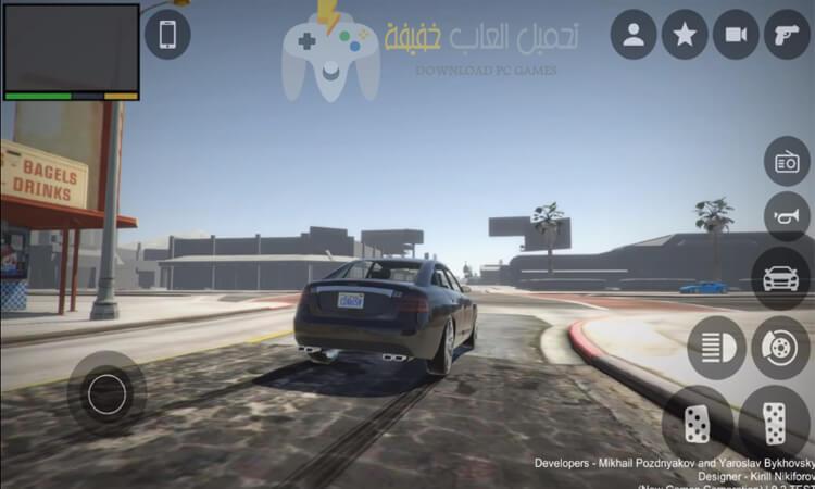 تحميل لعبة GTA V للاندرويد