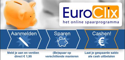 Spaar geld met EuroClix