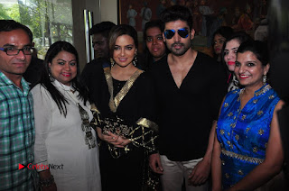 Bollywood Actress Sana Khan Launches Aakrithi Exibition  0375.JPG