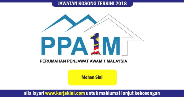 jawatan kosong 2018 ppa1m