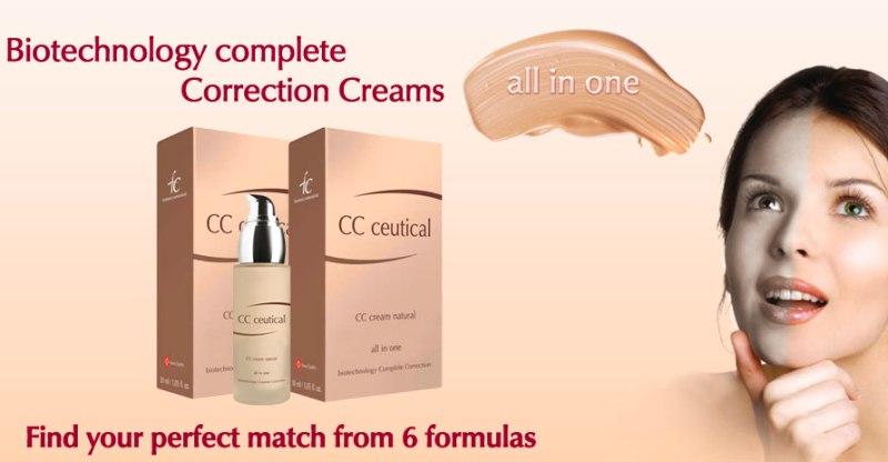 fytofontana cosmeceuticals cc ceutical biotechnology complete correction creams