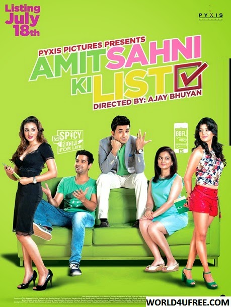 Amit Sahni Ki List 2014 720p WEBHD Rip 700mb