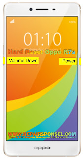 Hard Reset Oppo R7s Test Success