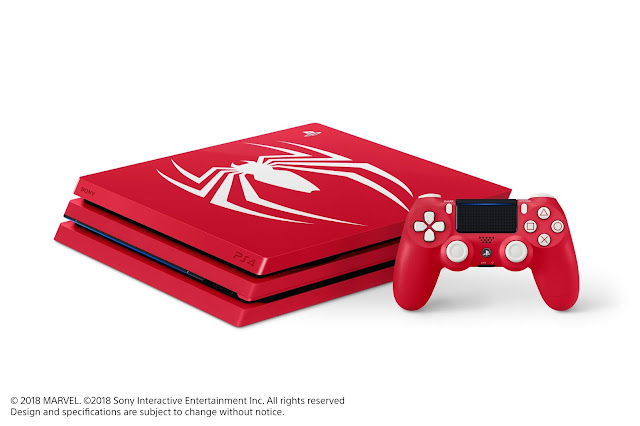 Limited Edition Marvel SpiderMan PS4 Pro Bundle