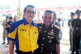 Sofian Tjandra dalam Acara Sertijab Pangdam XII/Tanjungpura