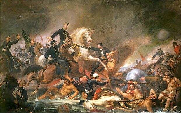 A Batalha de Campo Grande - Pedro Américo - Brasileiro
