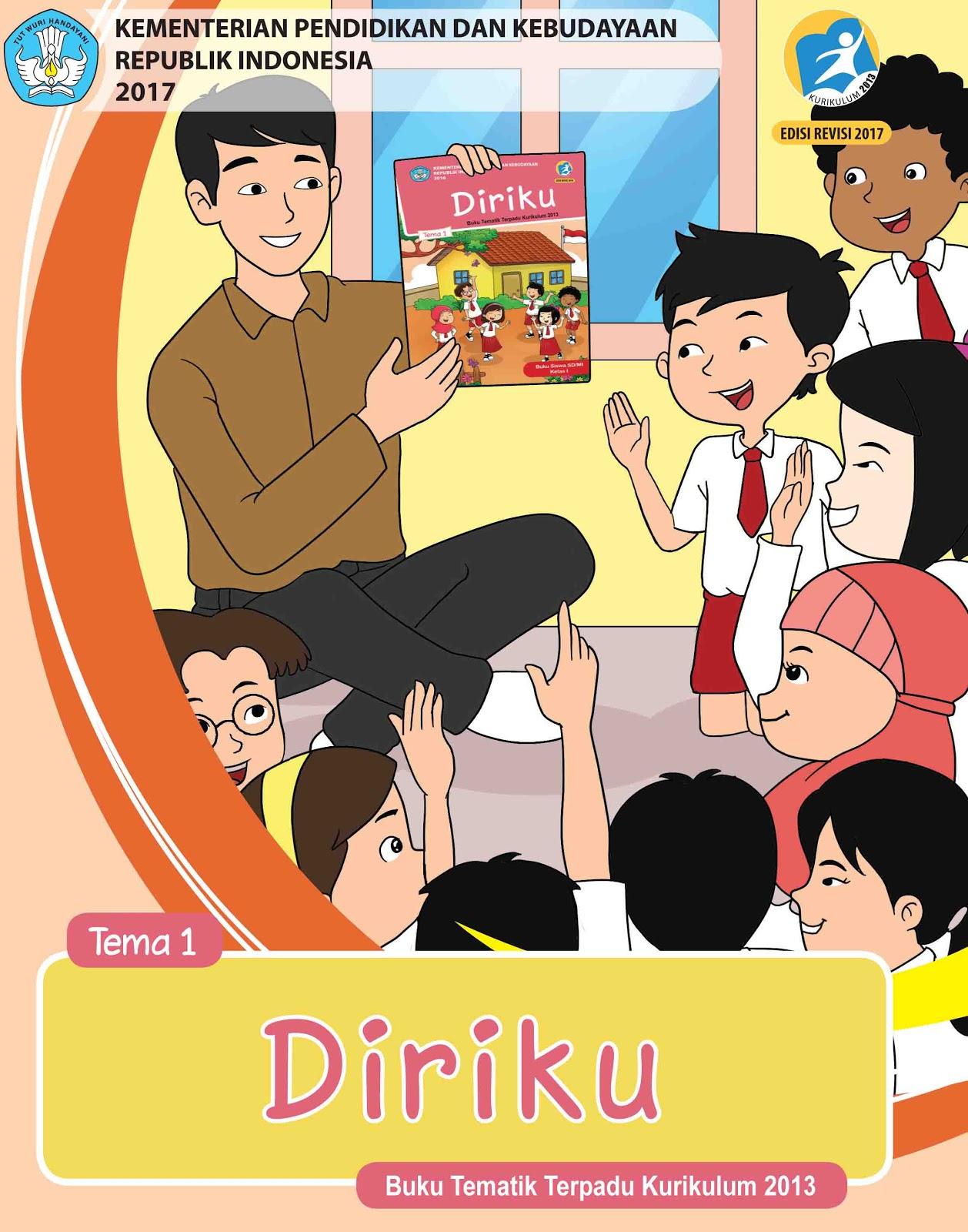 Download Buku Tema 1 Kelas 1 Sd : download, kelas, Siswa, Diriku, Kelas, SD/MI, Revisi, Terbaru, Sanjayaops