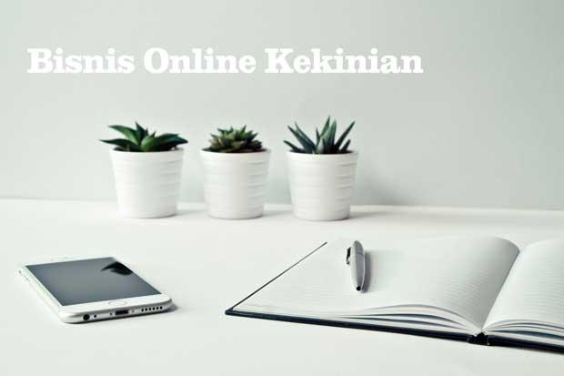 jenis bisnis online kekinian di rumah