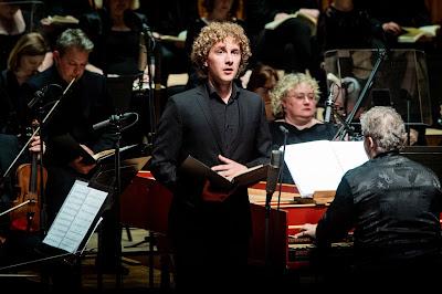Handel: Brockes Passion - Gwilym Bowen, Academy of Ancient Music, Richard Egarr - Barbican (Photo Robert Workman)