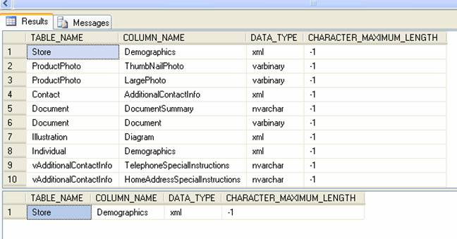 Does 1 always mean max in sql server metadata table stack overflow which is also supported by this site ccuart Image collections