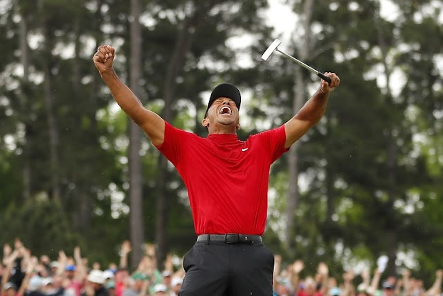 Tiger Woods grab 2019 Masters at Augusta