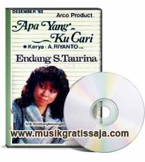 Endang S. Taurina - Apa Yang Kau Cari (Karaoke)