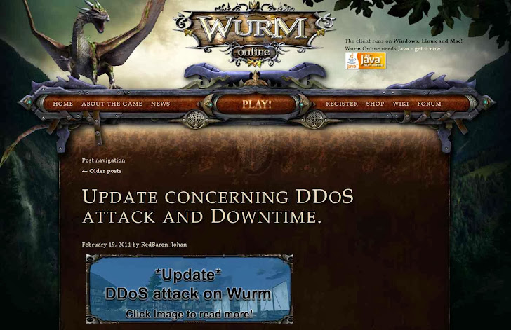 Free Online Game website offers $13,000 Reward to expose details on DDoS attack