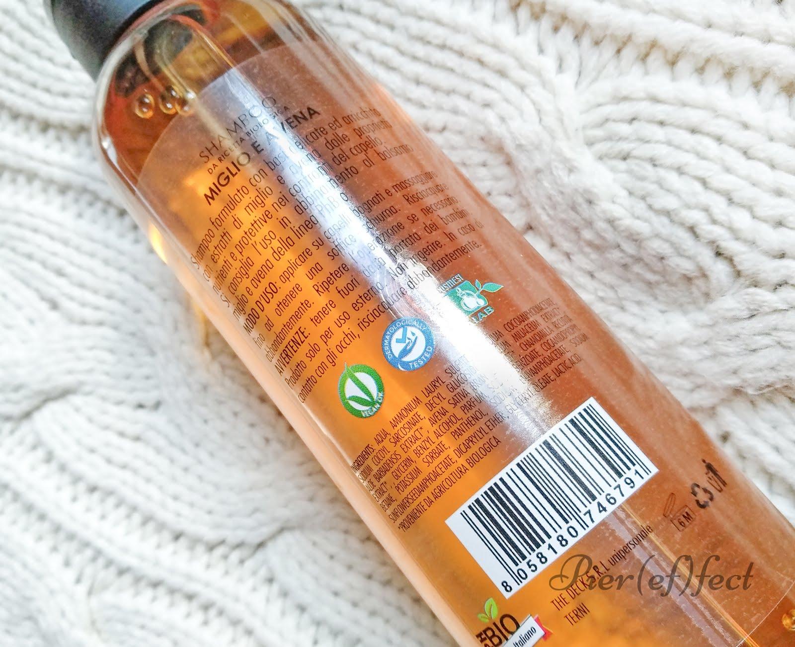 Opinioni PhBio Shampoo Miglio e Avena per lavaggi frequenti