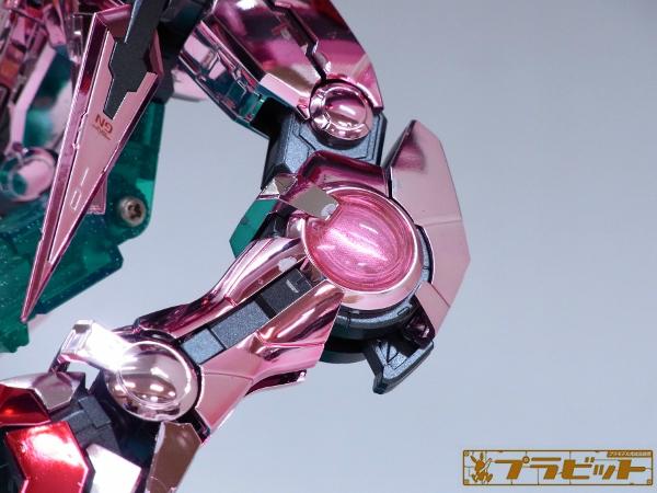 Custom Build: MG 1/100 Gundam Exia [Trans-Am Plated ver.]
