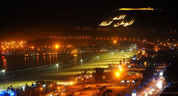 ارتفاع عدد ليالي المبيت بفنادق أكادير و المغاربة في مقدمة السياح الوافدين