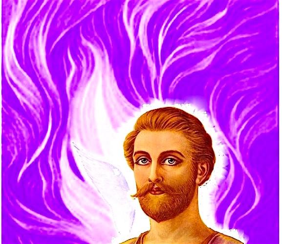 Resultado de imagem para llama violeta ascendida