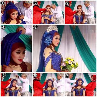 Tutorial Hijab Pengantin