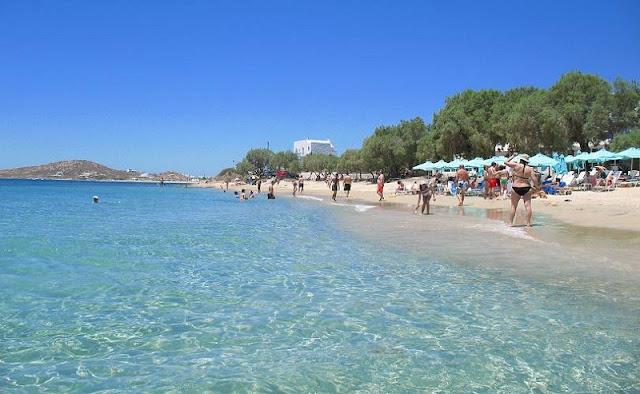 Praia Agia Anna, Naxos