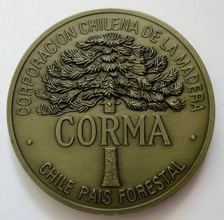 CORMA CORPORACION CHILENA DE LA MADERA  CHILE PAIS FORESTAL