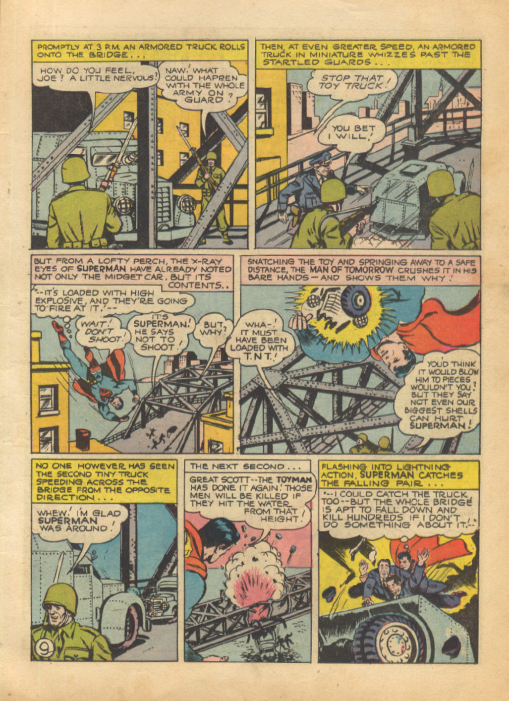 Read online Action Comics (1938) comic -  Issue #64 - 11