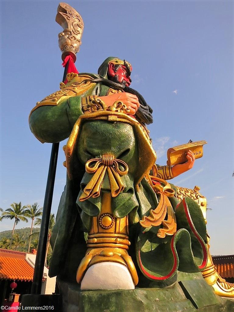 Camille's Samui Info blog: Guang Yu Shrine in Hua Thanon