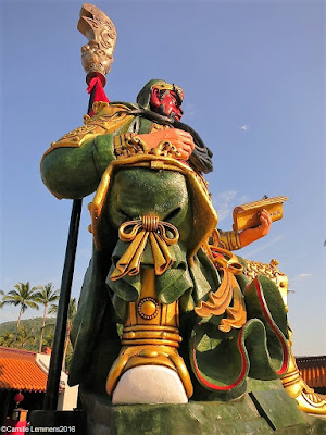 Guang Yu Shrine in Hua Thanon