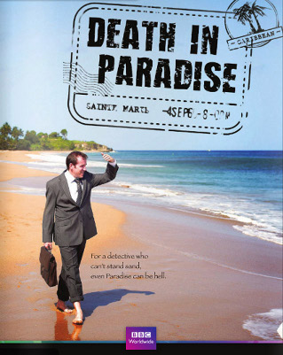 "BBC1's ""Death In Paradise"" Brings On The Guilty Pleasures"