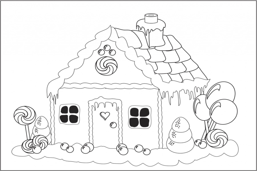 59 gambar mewarnai rumah untuk anak PAUD, TK dan SD ...
