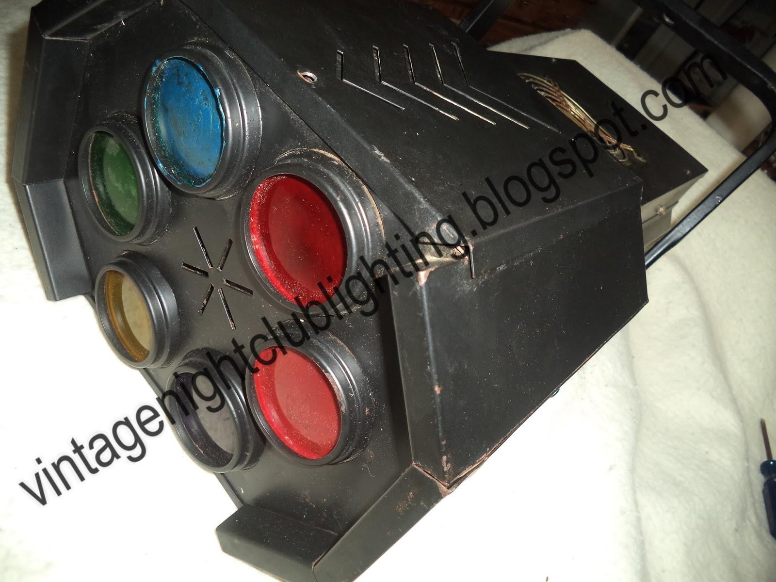 Vintage Night Club Lighting F A L Condor Unit Flat Version