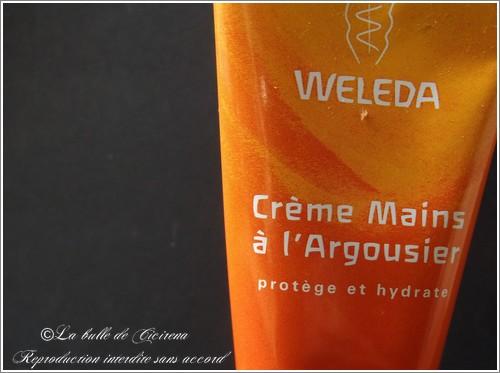 Crème Mains à l'Argousier Weleda, weleda, blog beauté