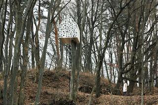 Casa de pájaros Nendo