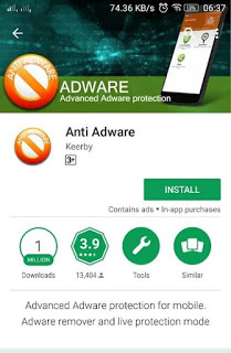 Menghilangkan Iklan popup di ANDROID