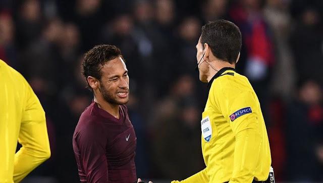 Neymar Arbitres PSG