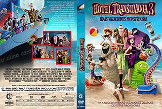 Hotel Transilvania 3 Unas Vacaciones Mounstruosas - Cover DV
