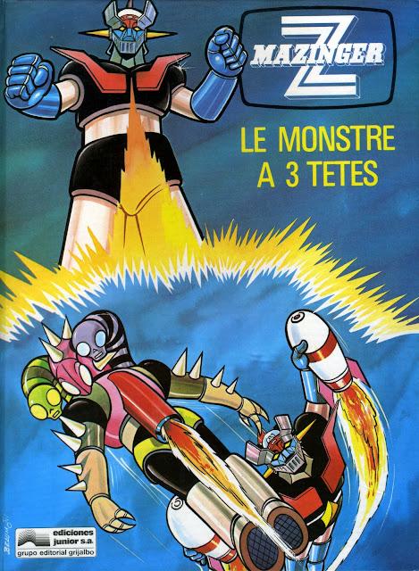 MAZINGER Z LE MONSTRE A 3 TETES - VIEILLE BD Mazinger-vieille-bd001