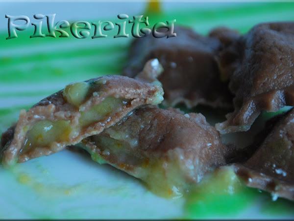 Raviolis de chocolate - Un celiaco a cena.