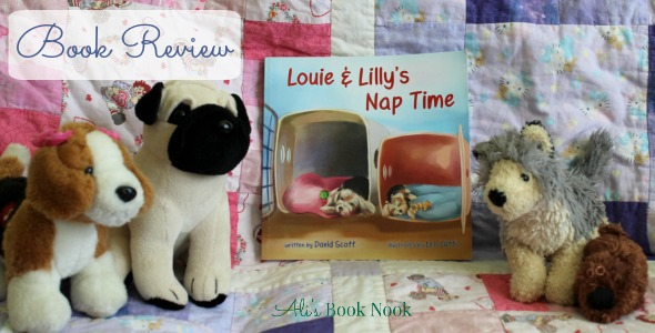 Louie and Lilly's Nap Time a children's book by David Scott