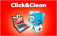 Click and clean extension for Google Chrome