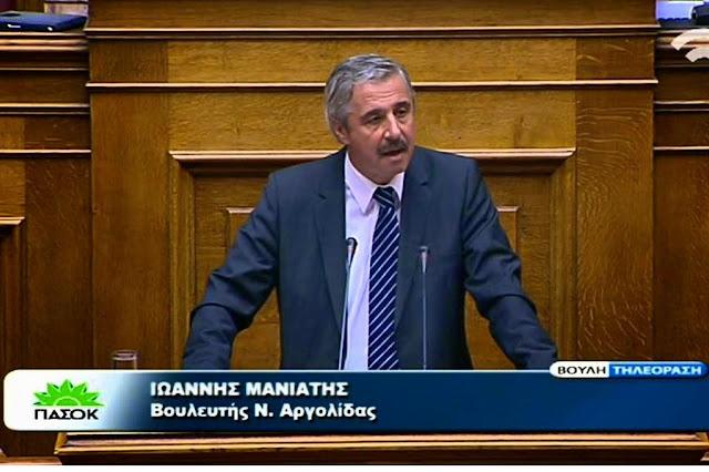 """Ο Γ. Μανιάτης αύριο πρωί  στον ANT1 για την """"έξοδο"""" από το μνημόνιο Τσίπρα"""