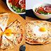 Śniadaniowa pizza z tortilli (6 składników)