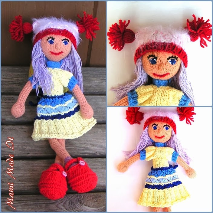 New Clothes For Our Strikkedukker Doll
