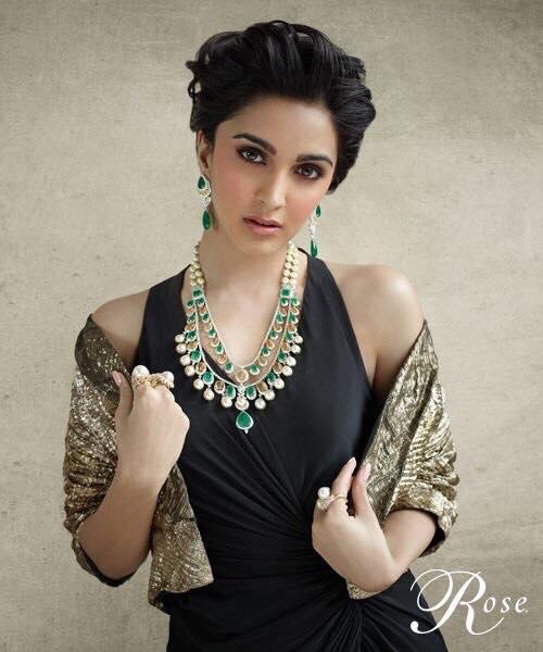 Kiara Advani Kundan Diamond Sets