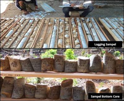 SOP logging sampel bor nikel