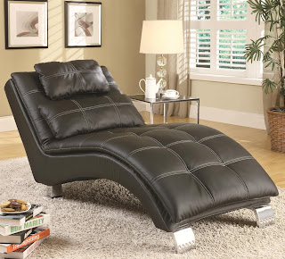 Black Contemporary Chaise Lounge Sofa Bed : chaise lounge buy - Sectionals, Sofas & Couches