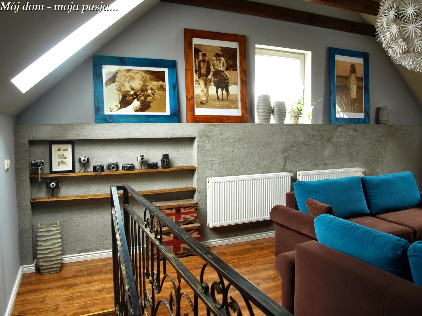 mój dom moja pasja, beton, loft, industrial, dekoratornia