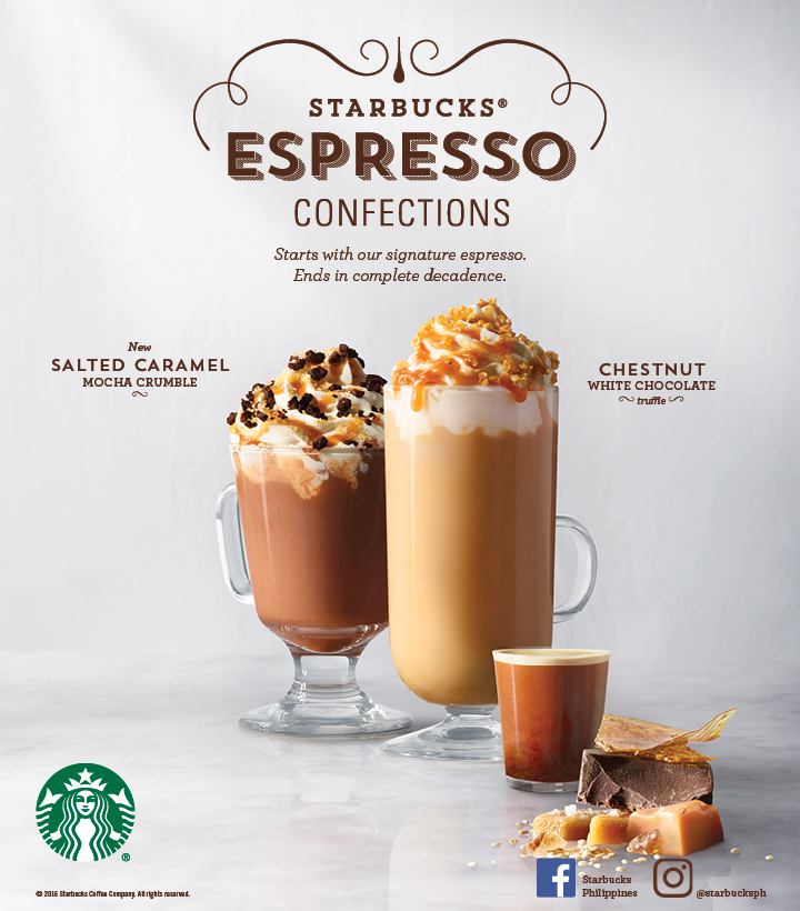 The food alphabet and more welcoming 2017 with starbucks for Confection cuisine