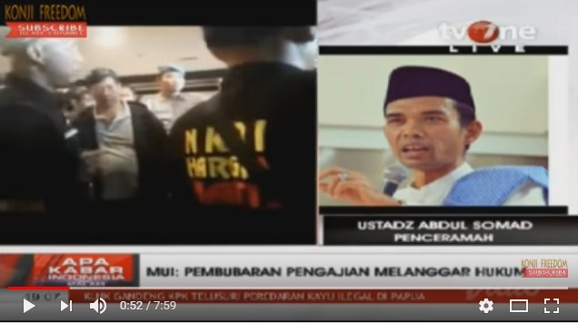 [Penolakan di Bali] Ditanya Host tvOne: Apa Ustad Trauma? Jawaban Ustad Abdul Somad Bikin Merinding