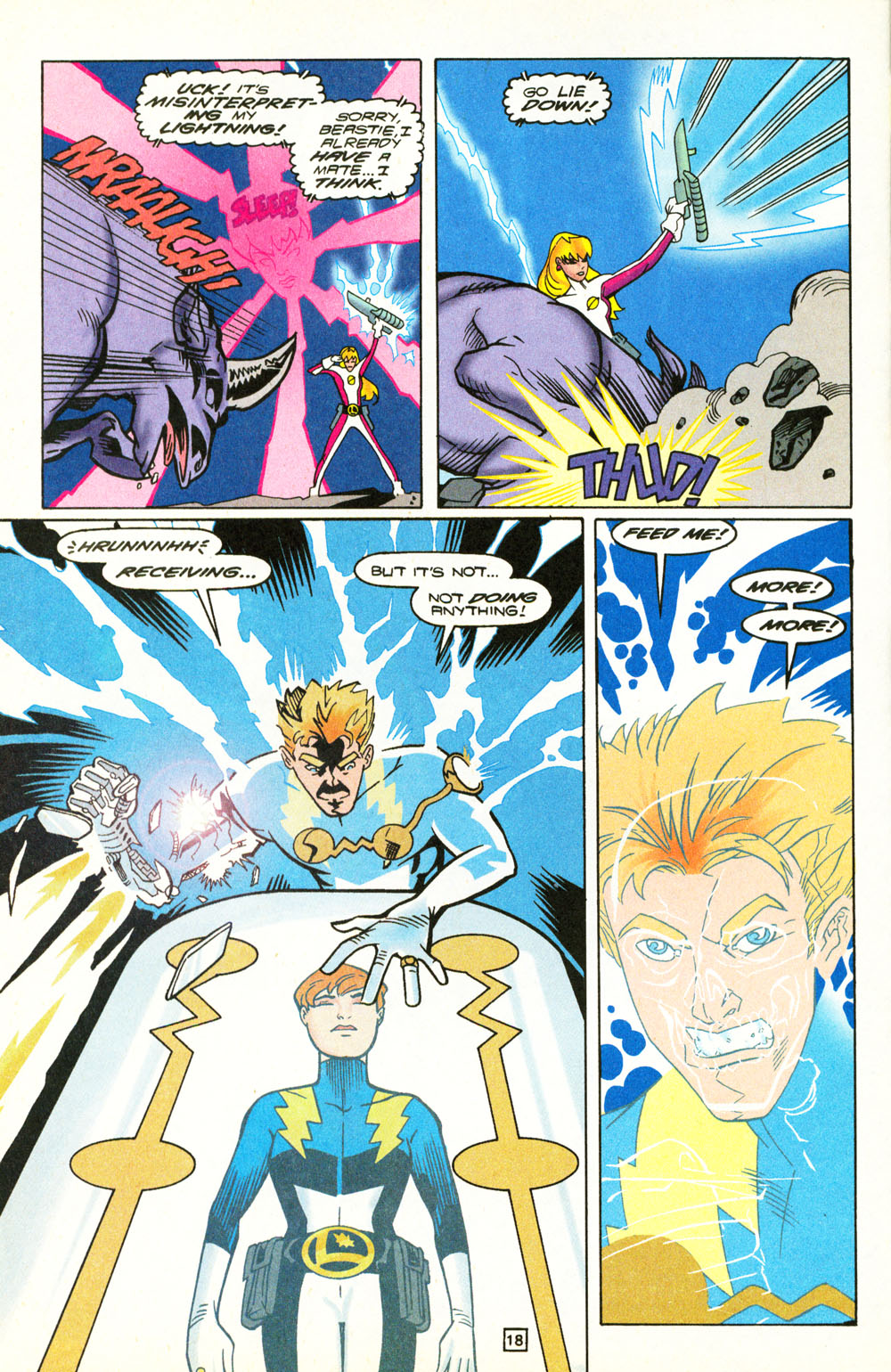 Legion of Super-Heroes (1989) 101 Page 18